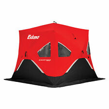 Eskimo FatFish Portable 3-4 Person Pop Up Ice Fishing Shanty Shack Shelter Hut