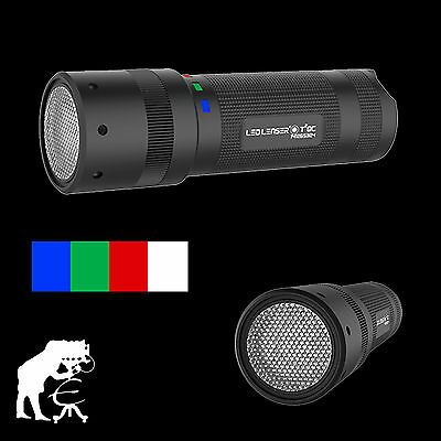 LED LENSER® T² QC, T2 QC, LEDTaschenlampe, 9802-QC, Multicolor, Lightpainting