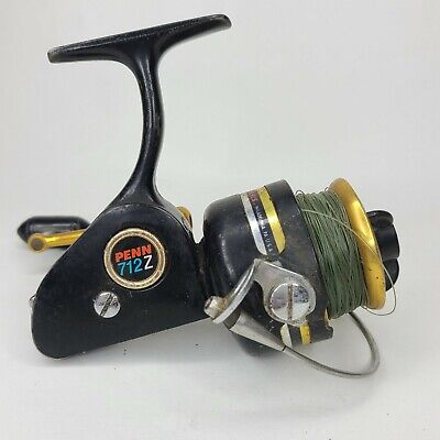 PENN 712Z Reel Spinning Speed Reel Great Condition Made in USA Penn Power Drag