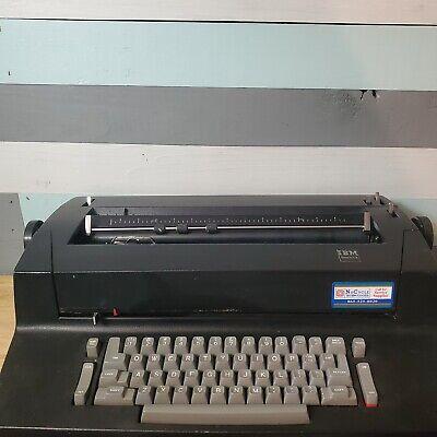 Vintage Black Ibm Selectric Ii 2 Retro Electric Typewriter W Extras Working