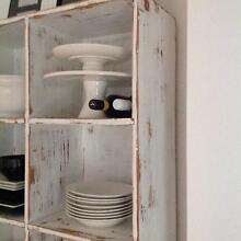 Large shabby chic/ rustic/industrial cubed shelving unit Croydon Burwood Area Preview