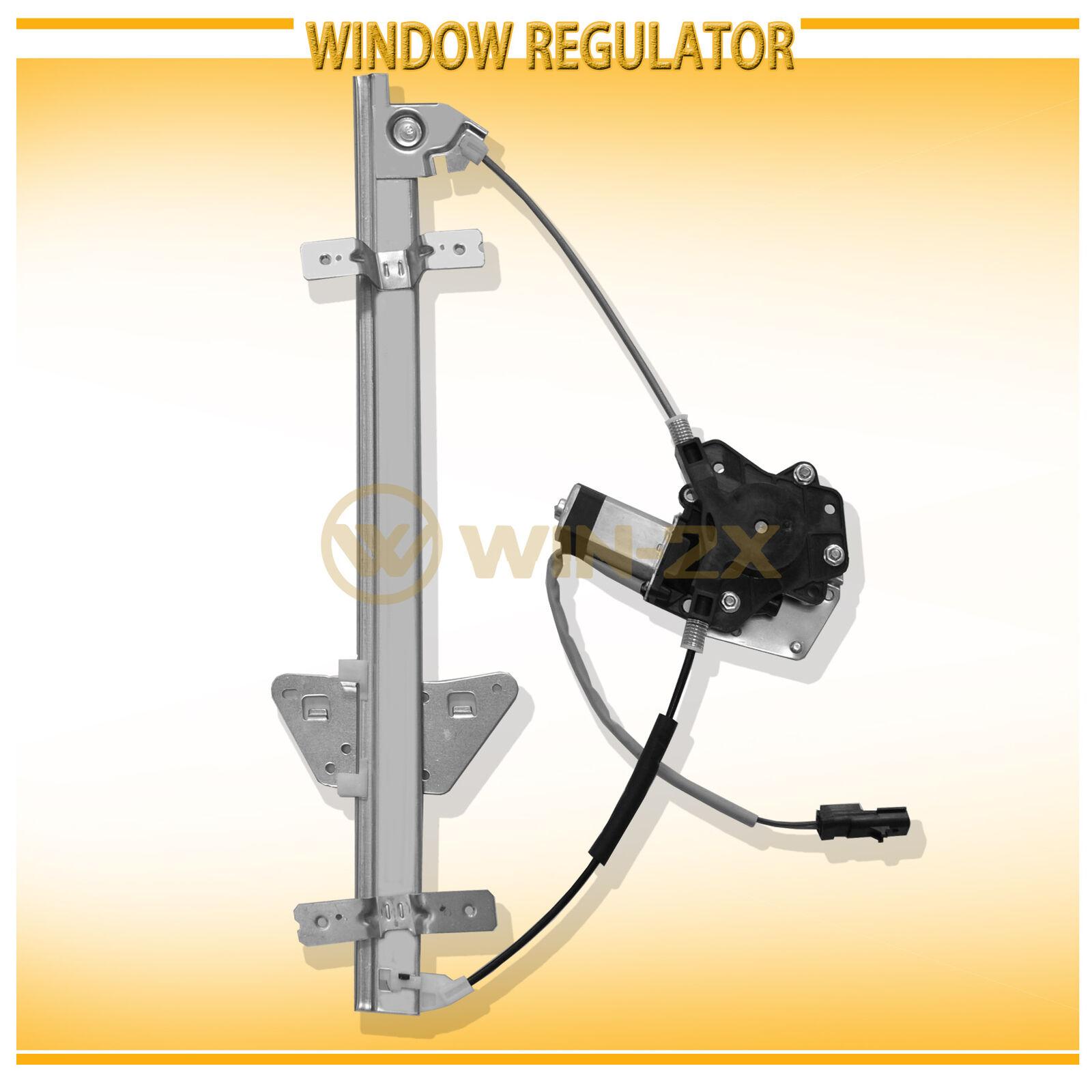 Power Window Regulator for 00-03 Dodge Durango Dakota Quad Cab Front LH w// Motor