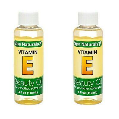 2X Spa Naturals Vitamin E Oil 4 oz  New
