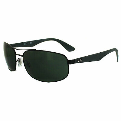 Ray-Ban Sunglasses 3527 006/71 Matt Black Grey Green