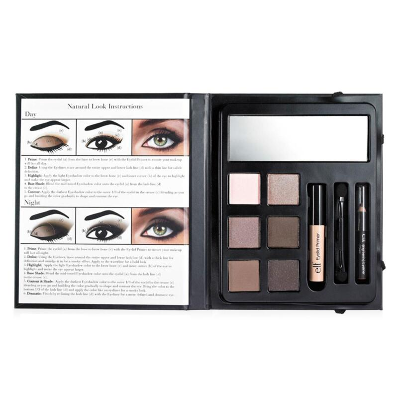 ELF e.l.f. 9 PIECE BEAUTY BOOK - NATURAL 85027