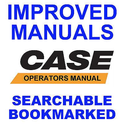Case 480c Loader Backhoe Factory Operators Instruction Manual Searchable Cd