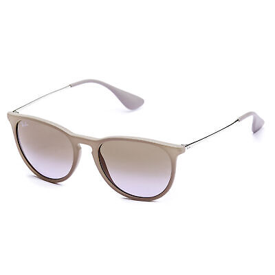 Ray-Ban Erika Classic Sunglasses 54mm (Brown Silver / Brown Violet (Gradient Silver Sunglasses)