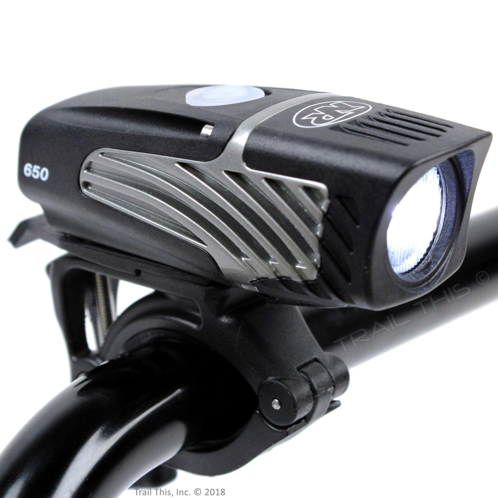Niterider Lumina Micro 650 Lumens Cree LED Bicycle Headlight