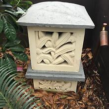Qty 4 Sandstone Garden Lanterns (Lamp not included) New Farm Brisbane North East Preview