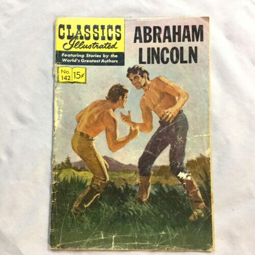 Classics Illustrated - Abraham Lincoln - #142