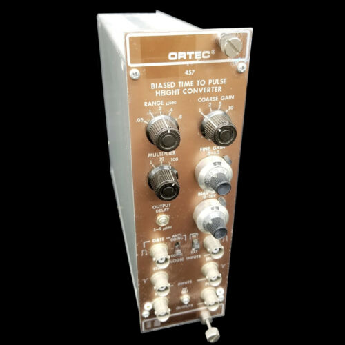 EG&G Ortec 457 Biased Time to Pulse Height Converter Nim Bin Plug-In Module