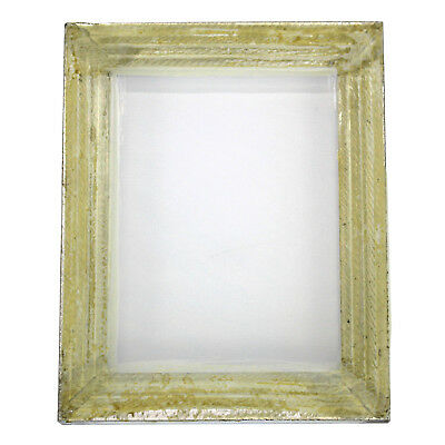 1 Aluminum Silk Screen Printing Press Screens 156 White Mesh 16 X 20