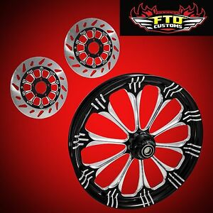 Honda VTX 1800 Wheel Package, Wheel, Tire, Rotors
