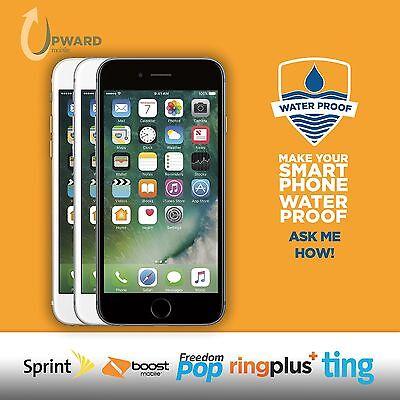 Apple Iphone 6  16Gb  64Gb  128Gb  Sprint Boost Ting Freedompop Flash Wireless