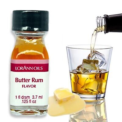Butter Rum Flavoring (LorAnn Gourmet Flavorings - Butter Rum Highly Concentrate Flavoring Baking)