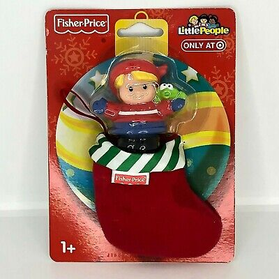 Fisher-Price Little People Kid Frog Christmas Stocking 2009