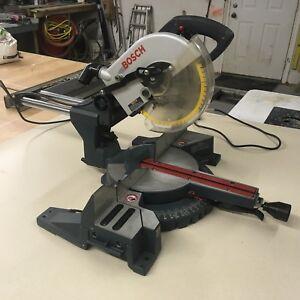 Bosch sliding miter saw