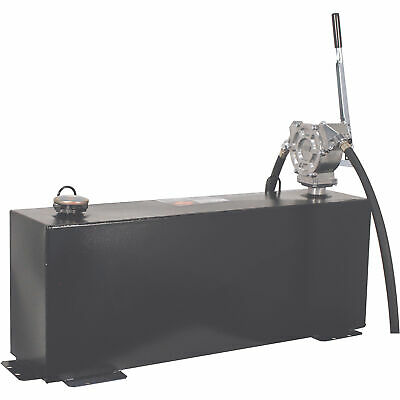 Better Built 36gal. Steel Transfer Fuel Tank Wgpi 50gpm Hand Pump-vertical