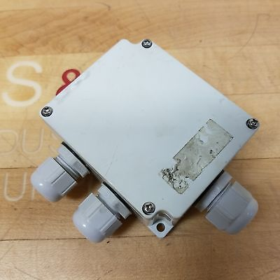 Boxco Bc-ag-6p Terminal Block Junction Box 6 Point Abs Grey Side Terminals