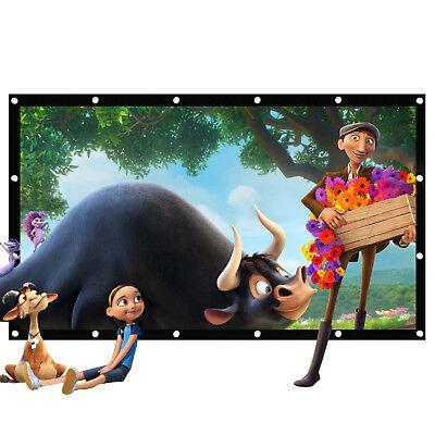 100 169 Portable Movie Screen Folding Projector Screen Home Cinema Outdoor