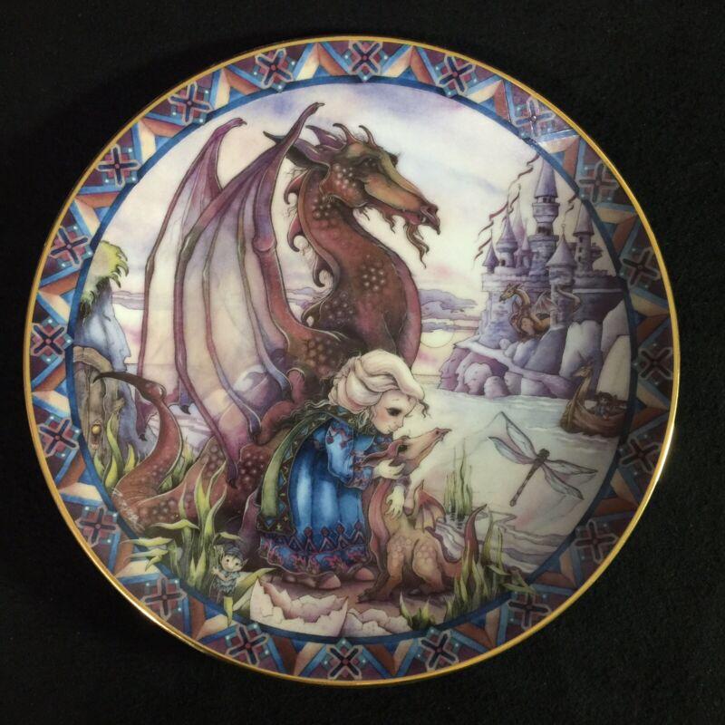 Reco Plate The Birth Of A Dream Jody Bergsma Dragon Castles And Dreams #1815BD
