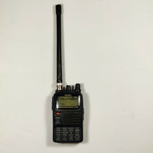 Yaesu VR-500 Handheld Compact All Mode Wide Band Scanner Receiver w/ AC Adapter