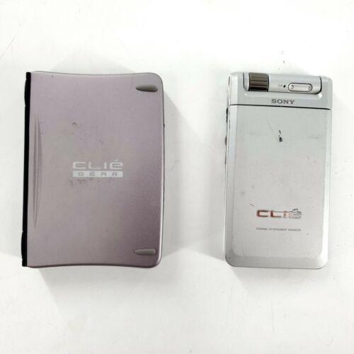 Sony CLIE PEG-NR70V/U Handheld Color PDA w/Keyboard -Untested as is