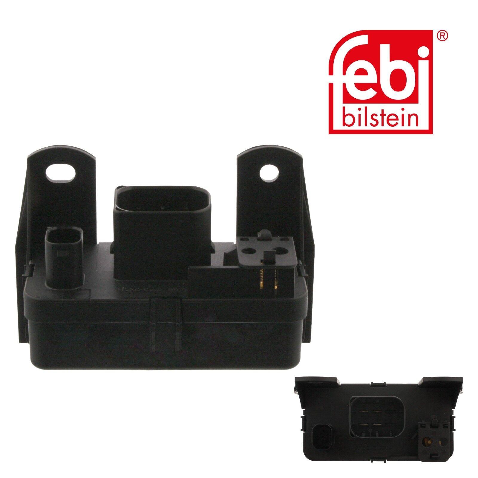 1 x glow plug relais FEBI 30905