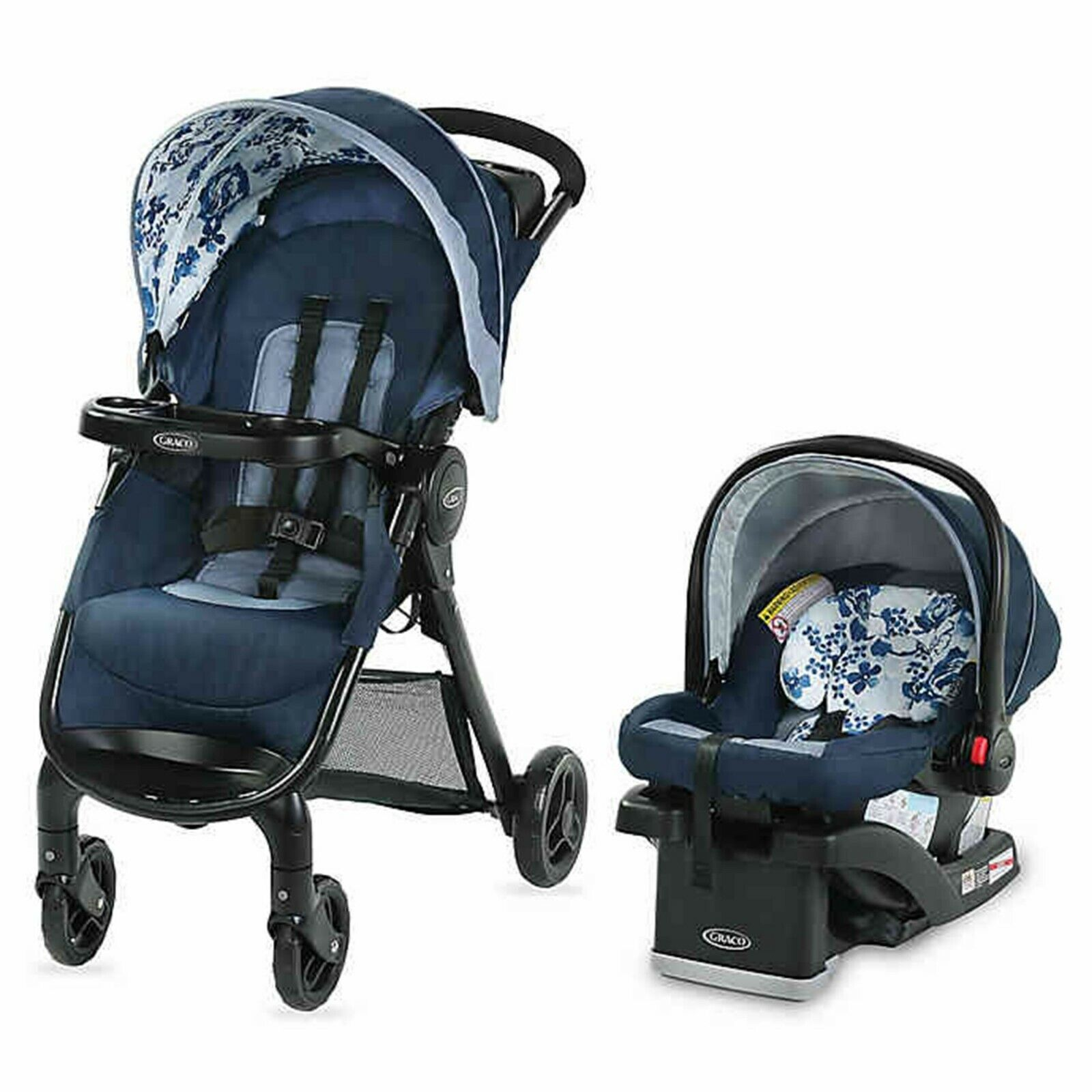 Graco Baby Stroller With Car Seat Combo Newborn Infant Trave