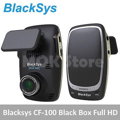 [To Russia] Blacksys 2CH Car Dash Cam CF-100 (Rear Camera)Black Box+16GB by CDEK