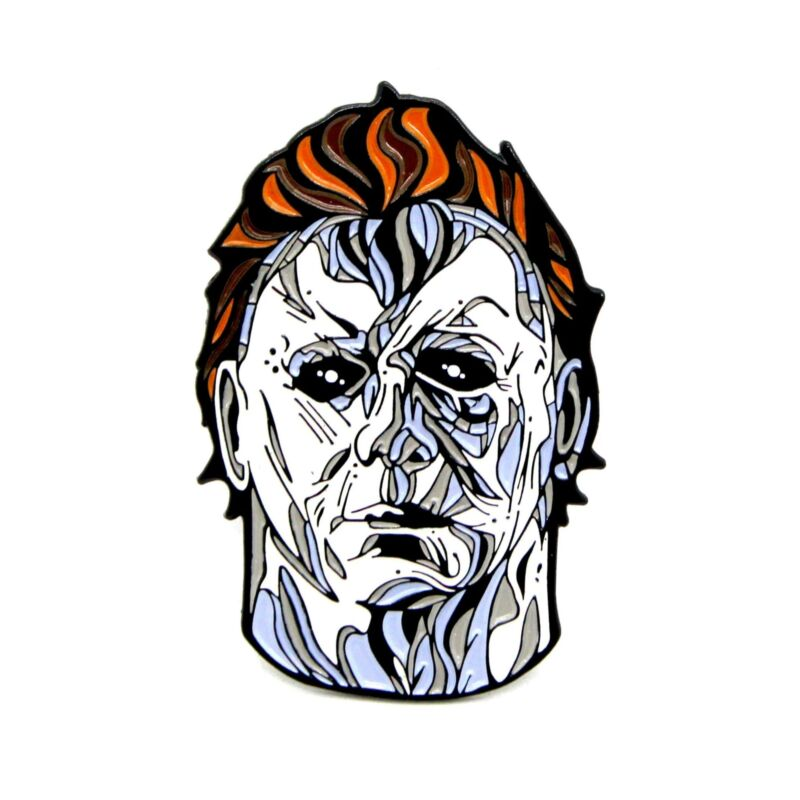 """Zobie Fright Pack - Limited Edition 2"""" Enamel Lapel Pin - Halloween - Michael My"""