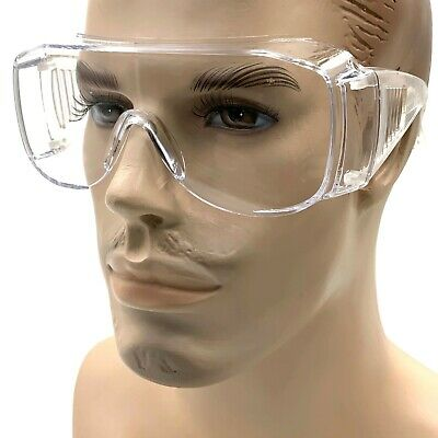 Xxl Wide Vision Over Specs Shooting Safety Visitor Spectacle Glasses Ansi Z87.1