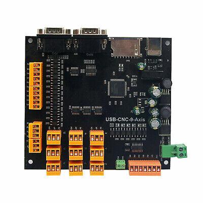 9axis Cnc Controller Set For Stepper Servo Motors Breakout Board Usb Cablecd
