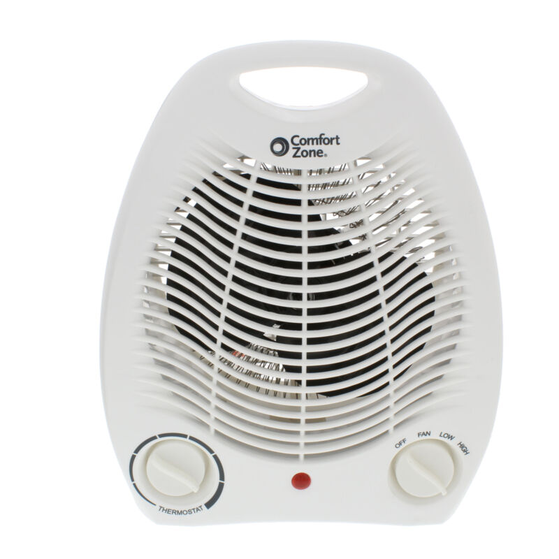 Comfort Zone CZ40 Electric Portable Heater with Thermostat
