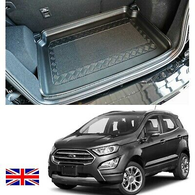 Ford Ecosport III LDPE UPPER boot liner rubber load mat or bumper protector