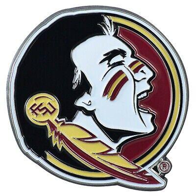 Fanmats NCAA Florida State Seminoles Diecast 3D Color Emblem Car Truck Rv