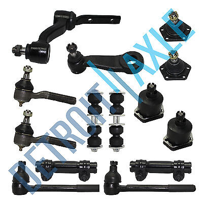 New 14pc Complete Front Suspension Kit for Chevrolet GMC Blazer S10 - 4x4