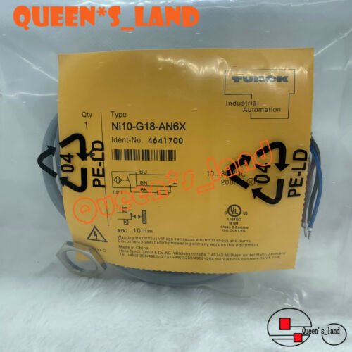 TURCK Proximity Switch Sensor Ni10-G18-AN6X Ni10G18AN6X New in bag Free shipping