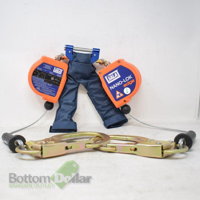 3M DBI-SALA Nano-Lok Edge Twin-Leg Quick Connect Self Retracting Factory Checked