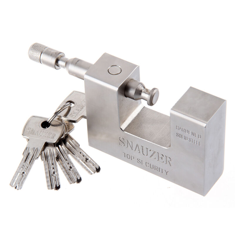 104mm Super Heavy Duty Container Garage Warehouse Padlock Chain Lock with 5keys