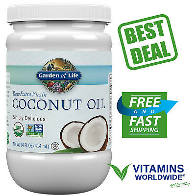 Biotic COCONUT OIL Extra Virgin Unrefined Cold Pressed Hair Skin Cooking 14 Oz