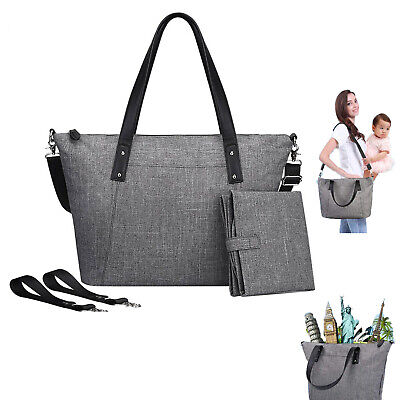 Mummy Baby Diaper Bag Large Capacity Multifunctional Handbag Nappy Tote Bag Diaper Baby Bag Purse