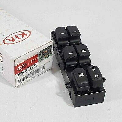Genuine 935702T010 Main Power Window Switch Button For Kia Optima 2011~2015