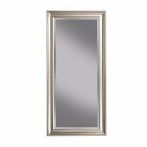 Full Length Mirror Leaner Standing Hanging Wall Mount Rectangle Champagne 65x31