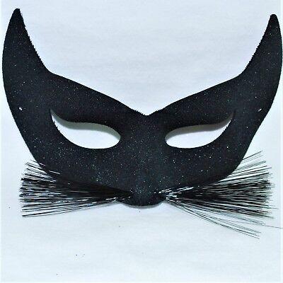 Black Cat Mask Kids World Book Day Costume Adults Fancy Dress Masquerade Ball - World Globe Halloween Costume