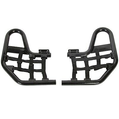 Aluminum Nerf Bars Black bar nets For Honda TRX 250EX 250X Pair set