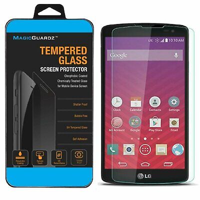 Premium Tempered Glass Screen Protector for LG Tribute Transpyre LS660 F60 Cell Phone Accessories