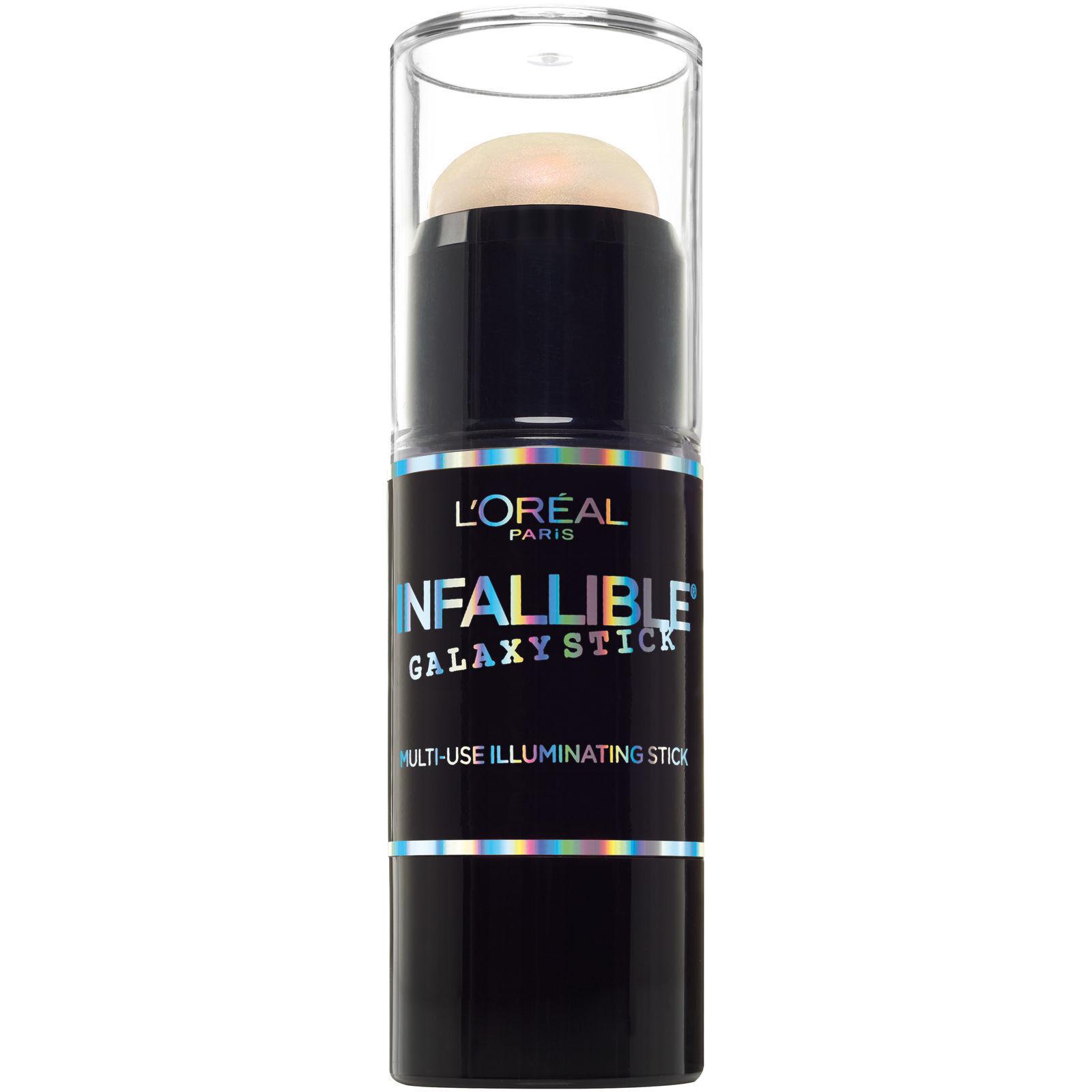 LOreal Paris Makeup Infallible Galaxy Pink Blue Highlighter