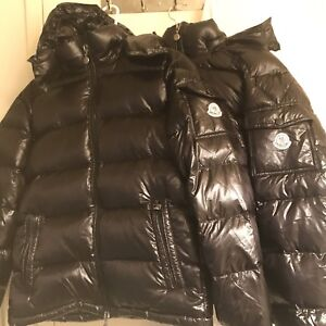 Brand New Black Moncler Bubble Jackets for sale