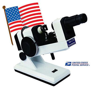 Manual Lensometer Optical Lensmeter Internal Reading Prism Unit Included Usa